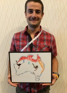 Dan Baldassarre, a 2016 COS Young Professional Award winner, made discoveries about Red-backed Fairywrens with red versus orange backs in Australia.