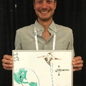 Meet Nathan Senner, who studies population dynamics in extreme organisms—his biosketch features two godwit species and a mouse.