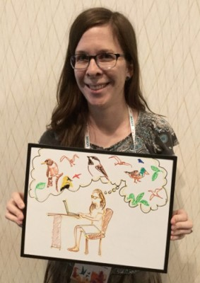 Meet Rebecca Heisman, who brings ornithology to the people for the Auk and Condor journals.