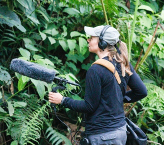 Kathi Borgmann_recording bird sounds