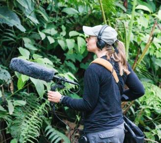 Kathi Borgmann_recording bird sounds